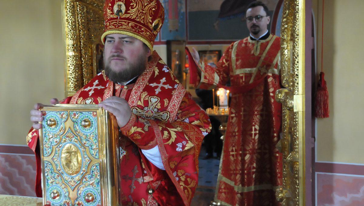 Преосвященный настоятель храма совершил Божественную литургию