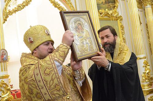 Епископ Богородский Матфей совершил пастырский визит в Неаполь