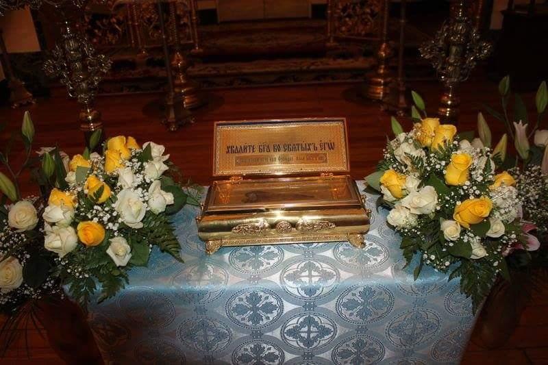 В Италию прибыли святыни Свято-Успенского Вышенского монастыря