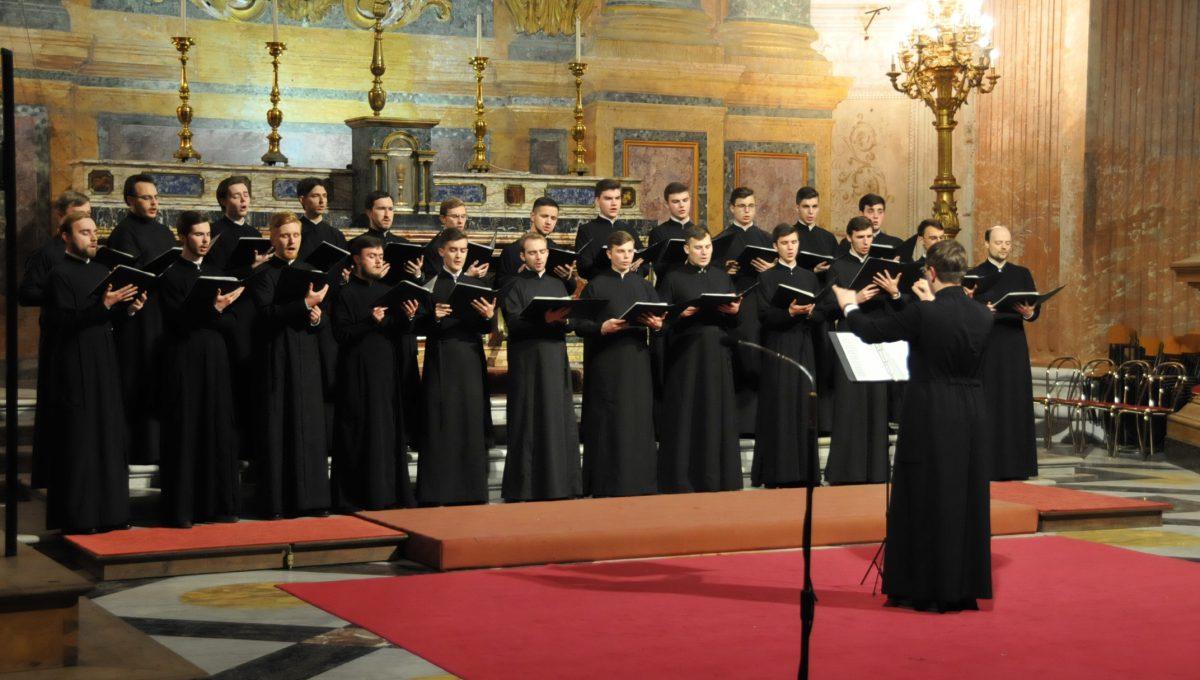 Концерт хора Санкт-Петербургской православной духовной академи