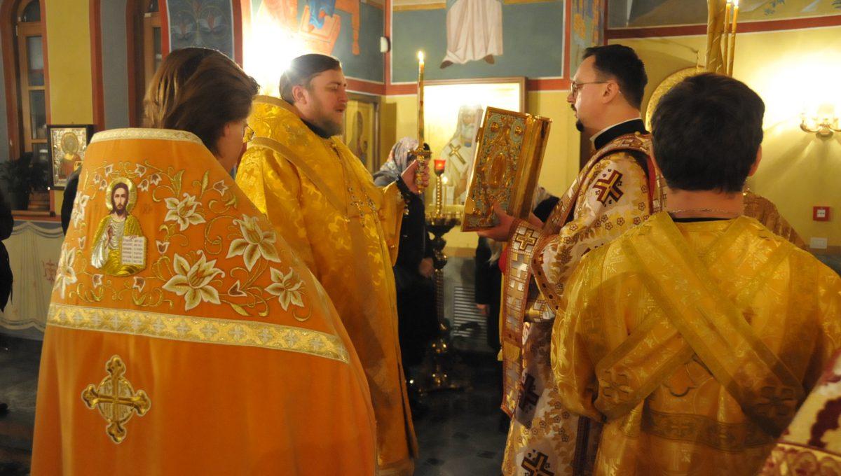 Епископ Матфей совершил всенощное бдение