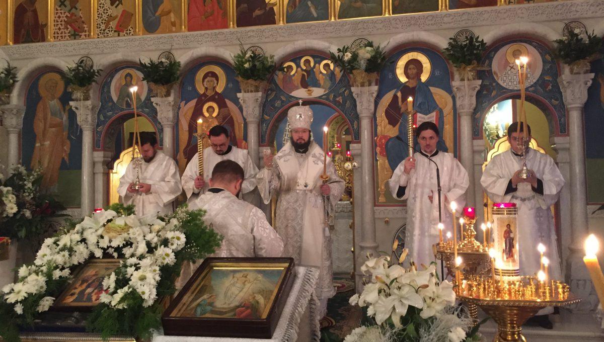 Епископ Антоний совершил всенощное бдение