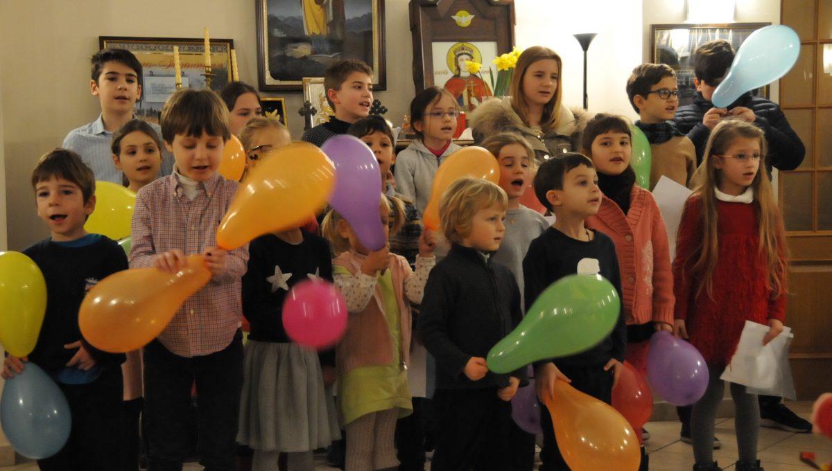 Празднование масленицы в Субботней школе