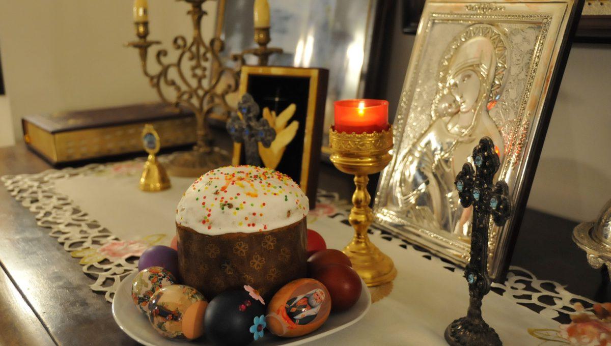 Храм святой Екатерины готовится к Пасхе