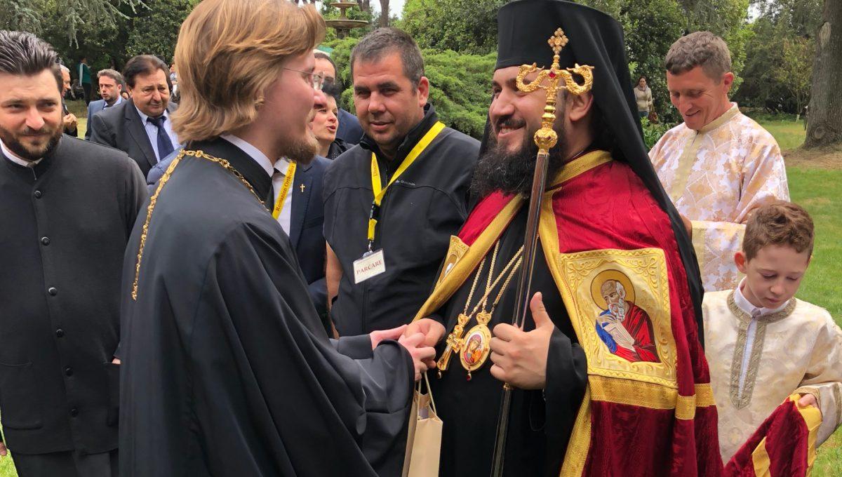Секретарь Администрации приходов принял участие в хиротонии викарного епископа для Румынской Православной Церкви в Италии
