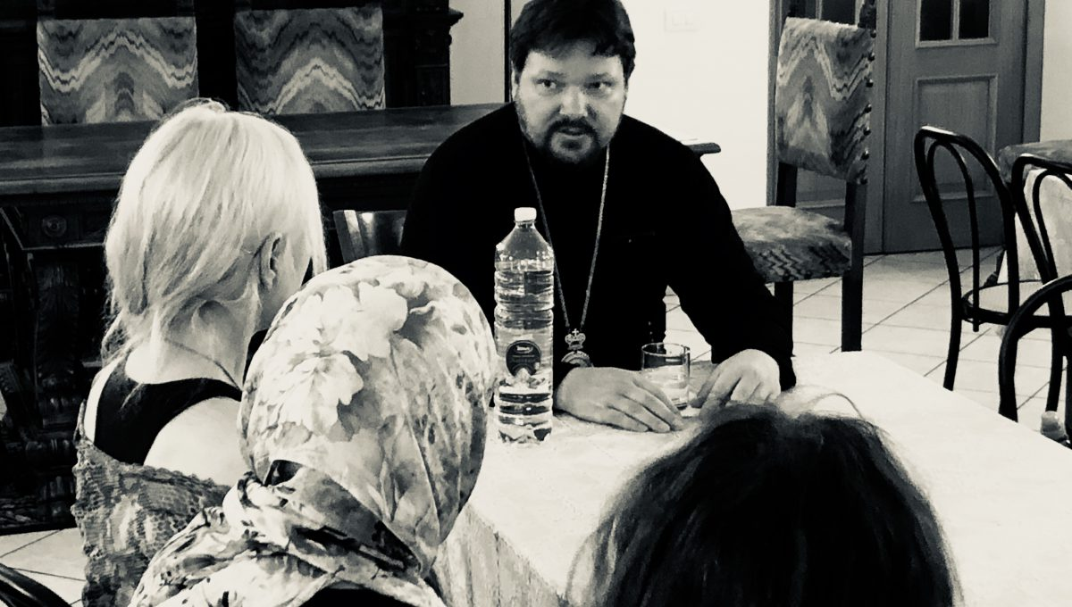 Епископ Наро-Фоминский Иоанн провёл беседу с прихожанами