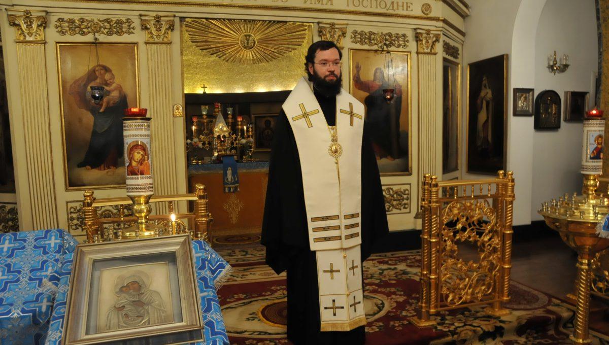 Архиепископ Антоний посетил храм святителя и чудотворца Николая в Риме