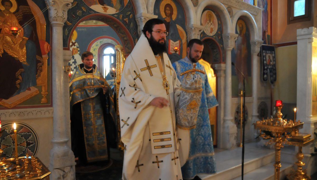 Архиепископ Антоний совершил всенощное бдение