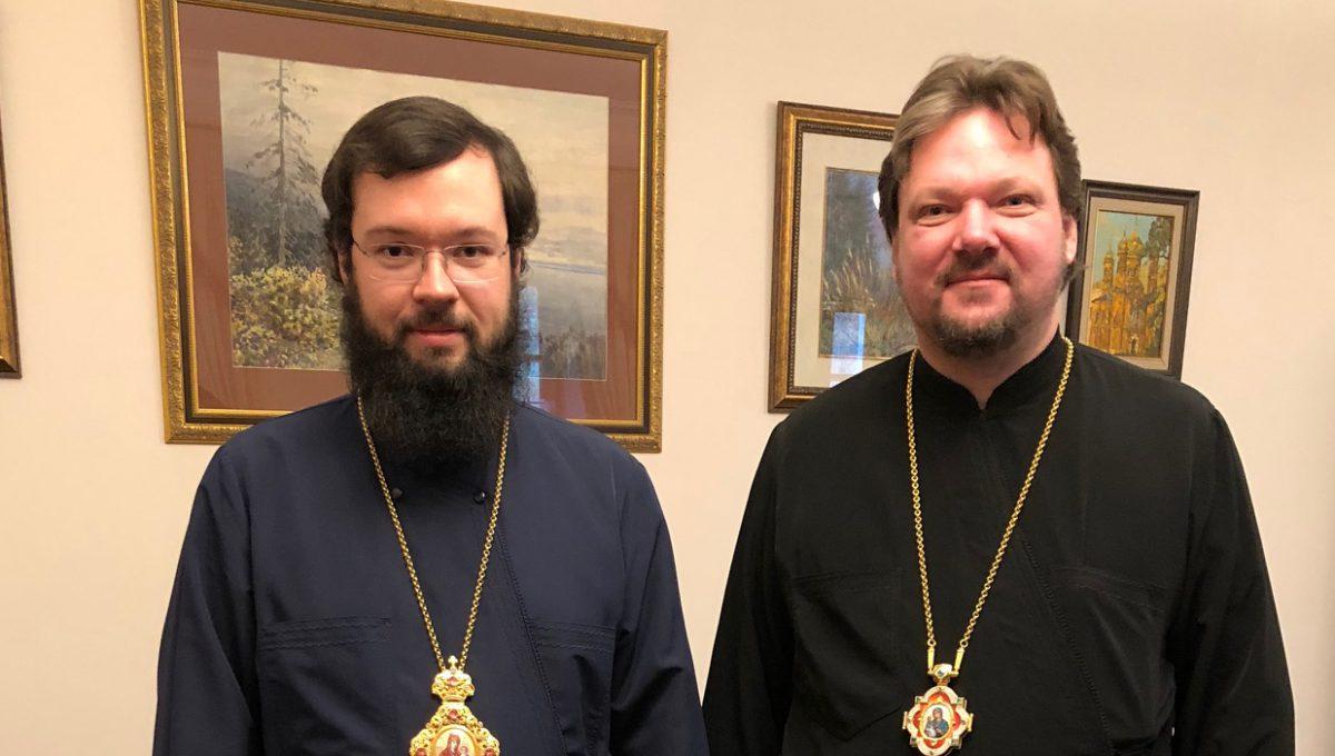 В Москве состоялась рабочая встреча епископа Богородского Иоанна и архиепископа Венского и Будапештского Антония