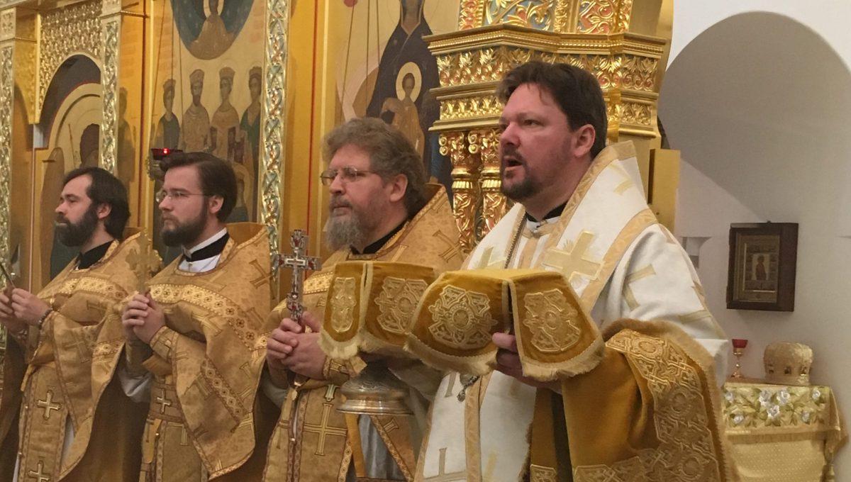 Епископ Богородский Иоанн совершил литургию на Патриаршем Подворье в Бари