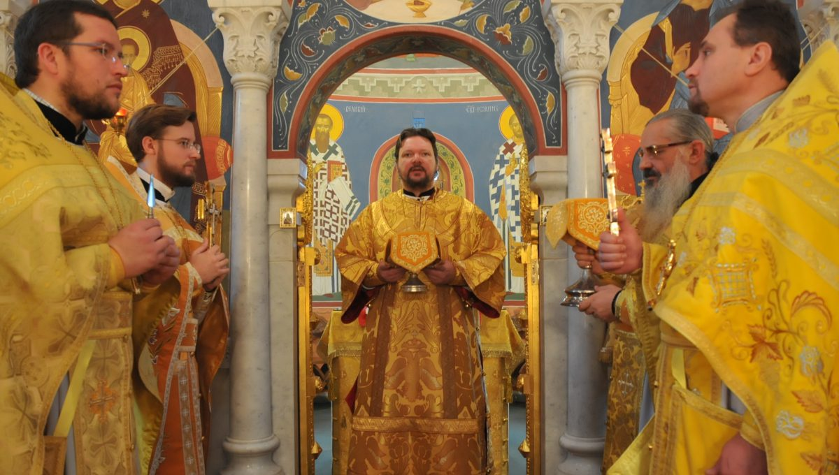 Епископ Иоанн совершил первую литургию в Италии