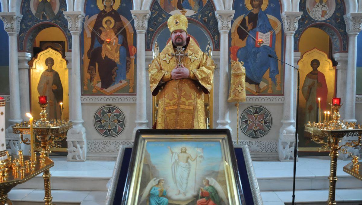 Епископ Иоанн совершил Божественную литургию