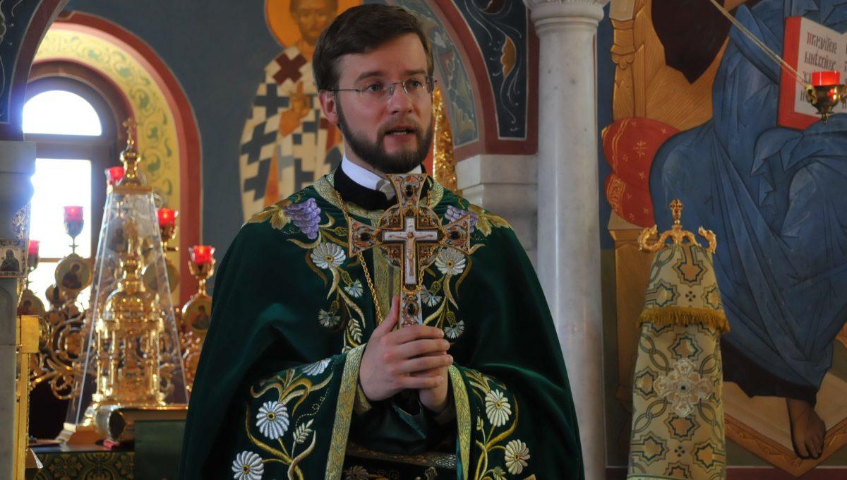 Иеромонах Амвросий (Мацегора) назначен секретарем Патриаршего Экзарха Западной Европы