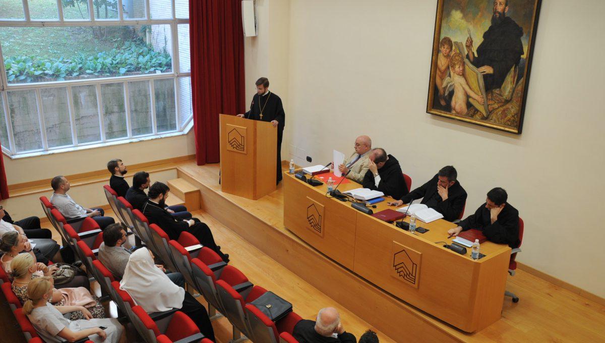 В Риме состоялась защита диссертации иеромонаха Амвросия (Мацегоры) на соискание ученой степени доктора богословия
