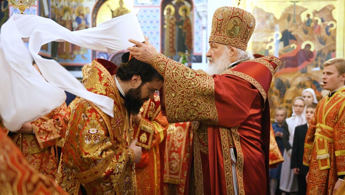 Архиепископ Корсунский и Западноевропейский Антоний возведен в сан митрополита