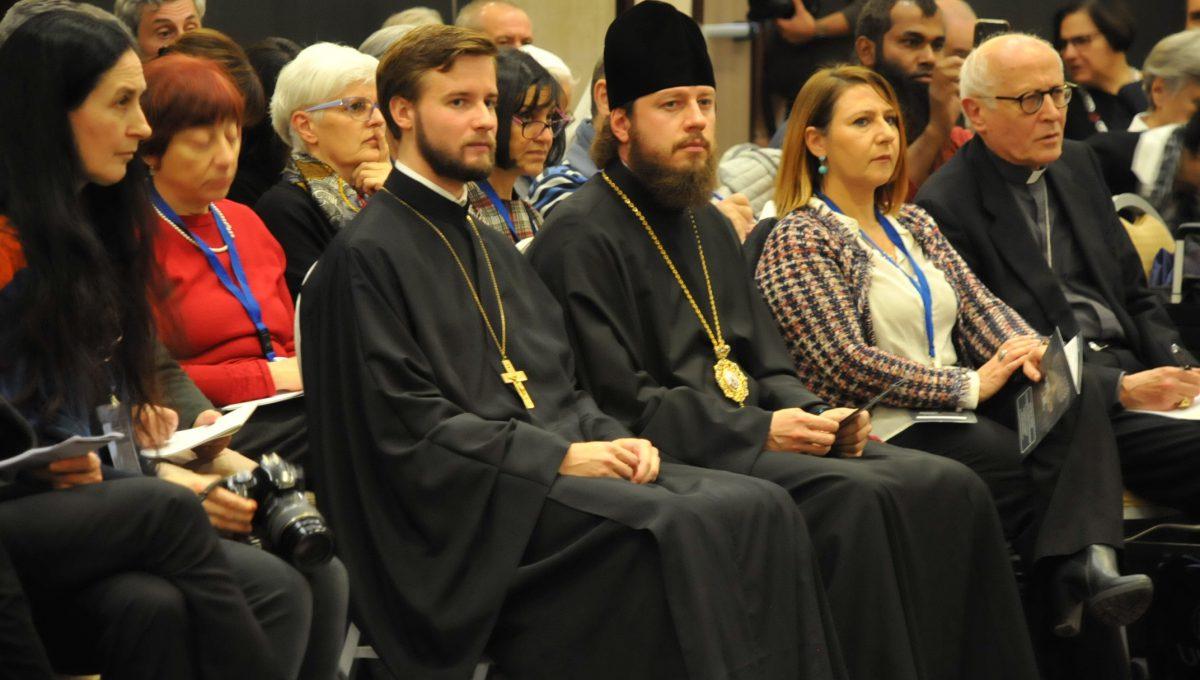 """Настоятель, духовенство и прихожане храма приняли участие в международной конференции """"Migranti e religioni"""""""