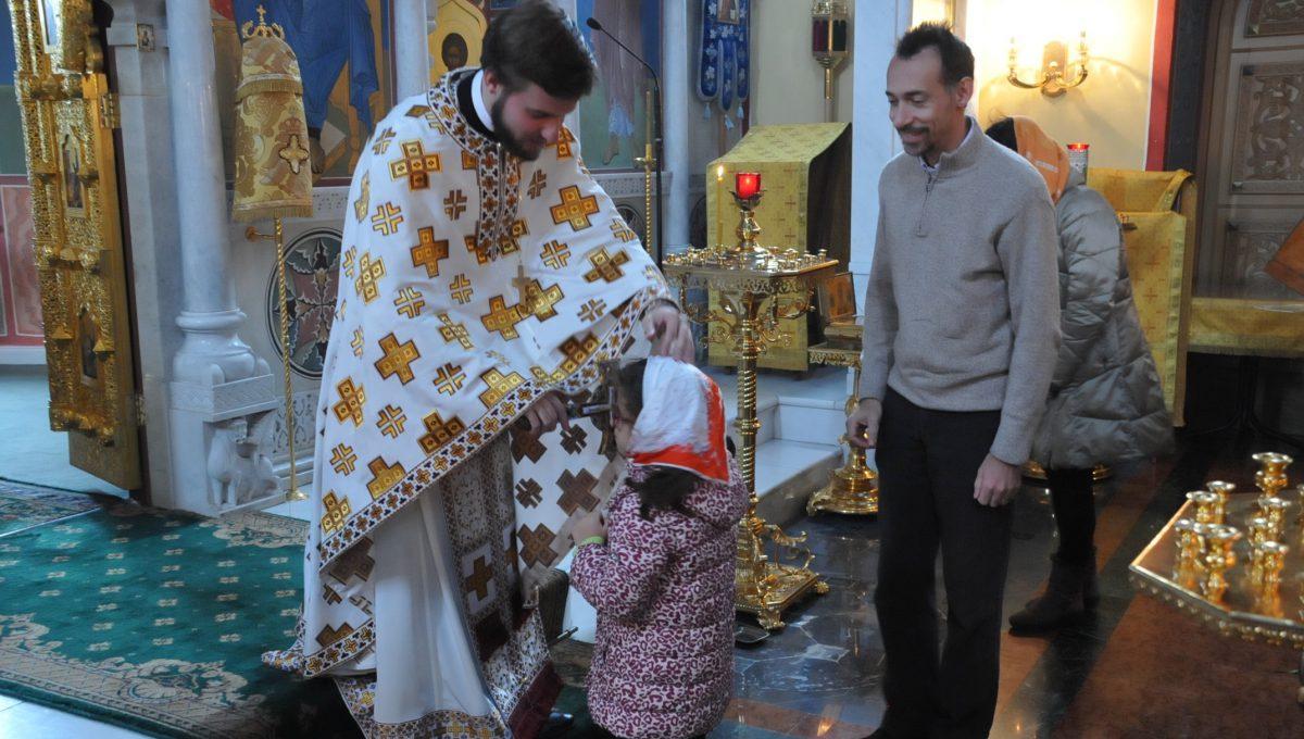Впервые была совершена литургия полностью  на итальянском языке