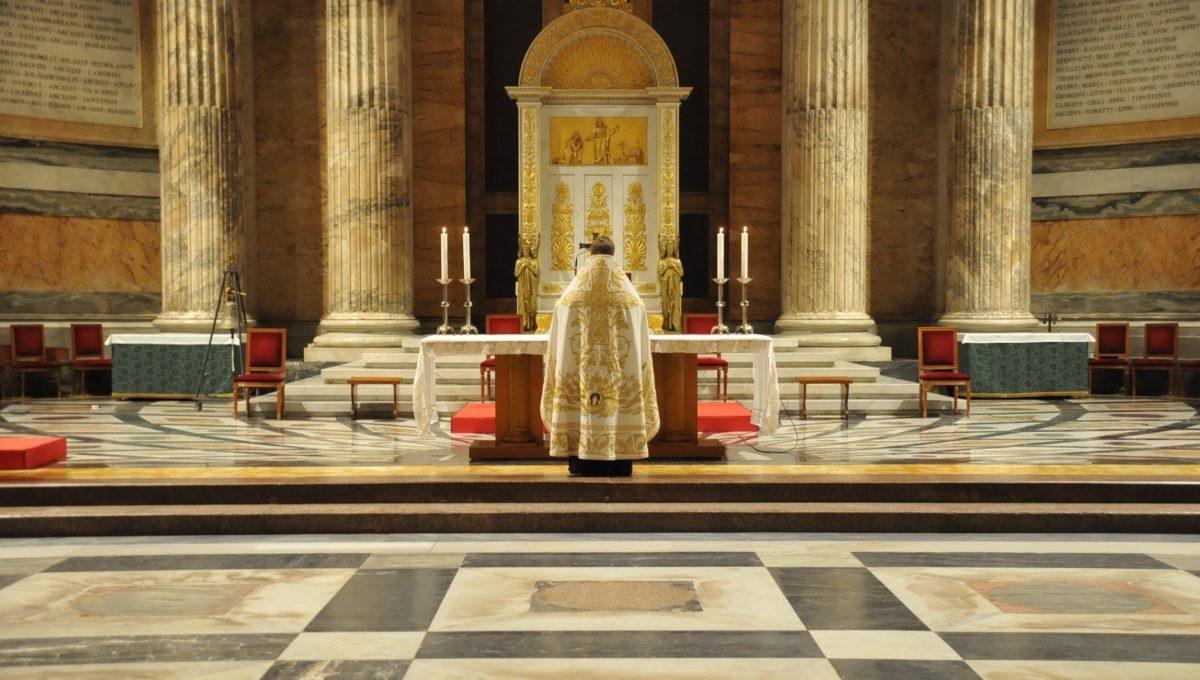 В базилике Сан Паоло была совершена православная вечерня