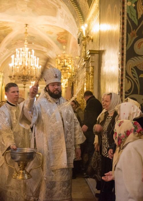 Архиерейские богослужения в праздник Крещения Господня