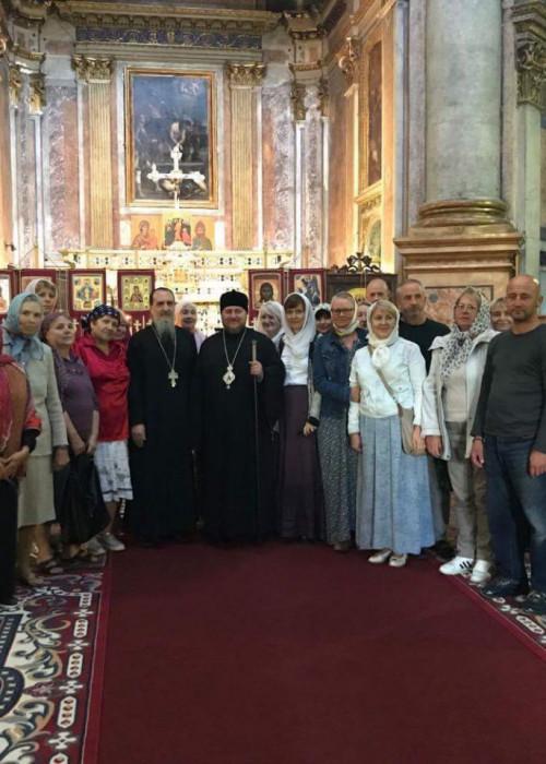 Начался визит епископа Богородского Матфея в Геную