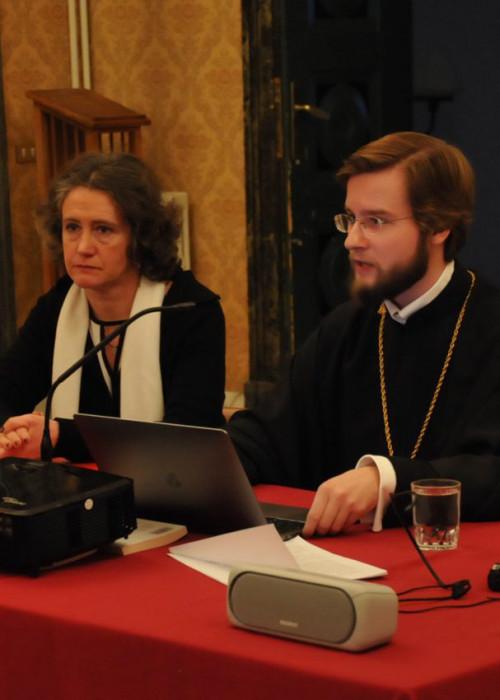 Секретарь Администрации приходов выступил с докладом на конференции, посвященной роли России в сохранении христианских корней Европы