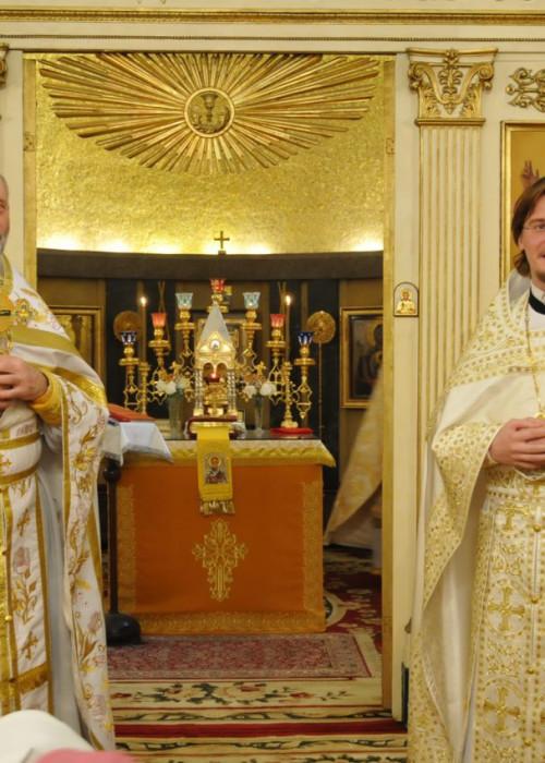 Престольный праздник Свято-Николаевского храма в Риме