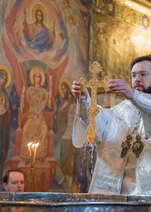 Архиерейское богослужение в Крещенский сочельник